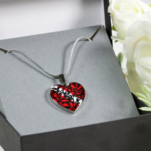 Scuba Life Heart Necklace