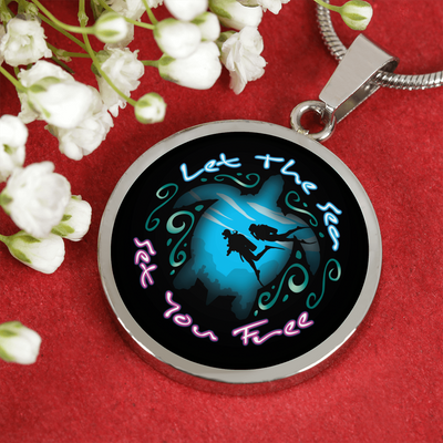Let The Sea Set You Free Necklace