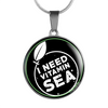 I Need Vitamin Sea Necklace