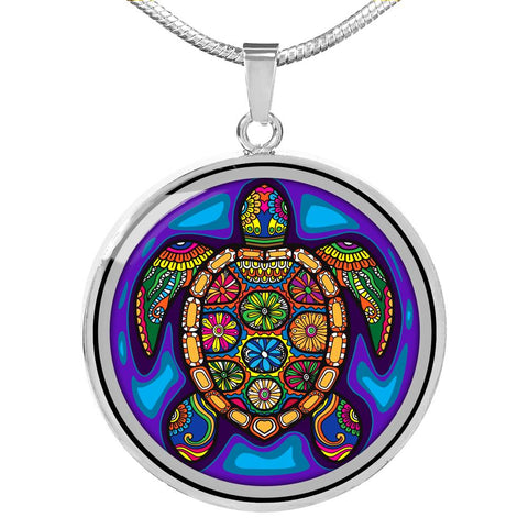 Image of Tropical Turtle Necklace