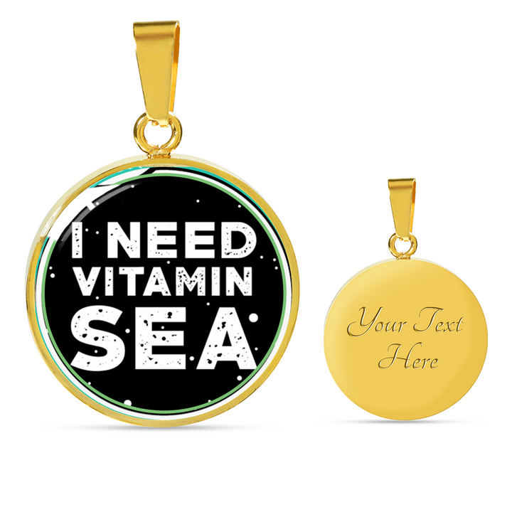 I Need Vitamin Sea V2 Necklace