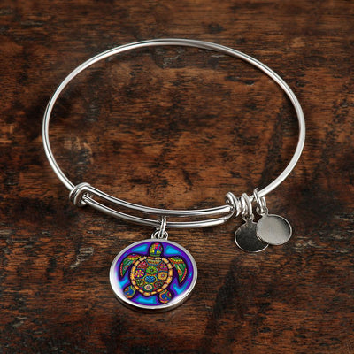 Turtle Gem Bangle