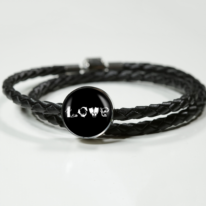 Love Scuba Braided Bracelet