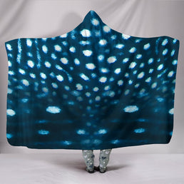 Whale Shark Hooded Blanket