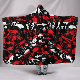 Scuba Diving Hooded Blanket
