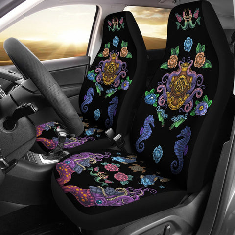 Ocean Style Car Seat Cover
