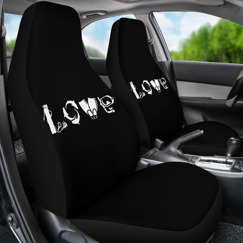 Love Scuba Car Seat Covers