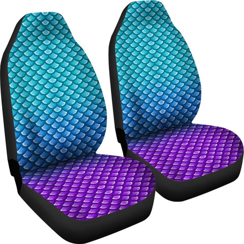 Mermaid Scales Car Seat Cover