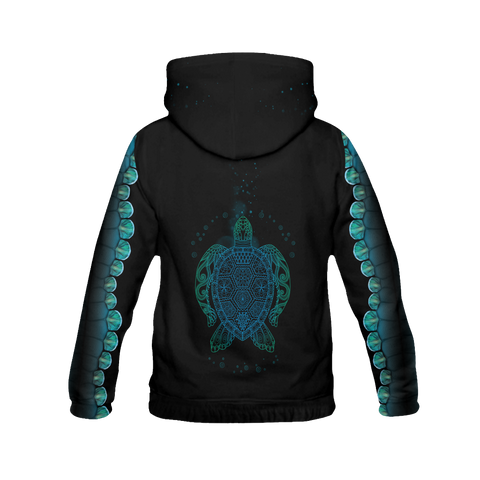 Let the Sea Set You Free All Over Print Hoodies