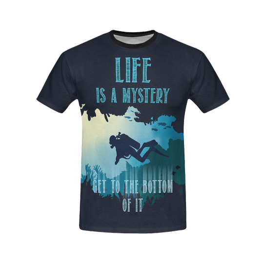 Life Is A Mystery All Over Print Shirt