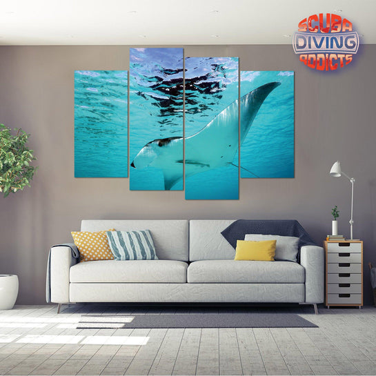 Manta Glide 4 Piece Canvas