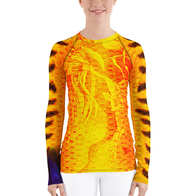 Flame Angelfish Women's Rash Guard
