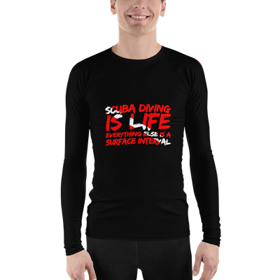 Scuba Diving Is Life - Men's Rash Guard