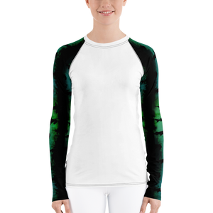 Green Hammerhead Sleeves - Women's Rash Guard