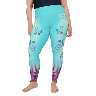 Turtles Plus-Size Leggings