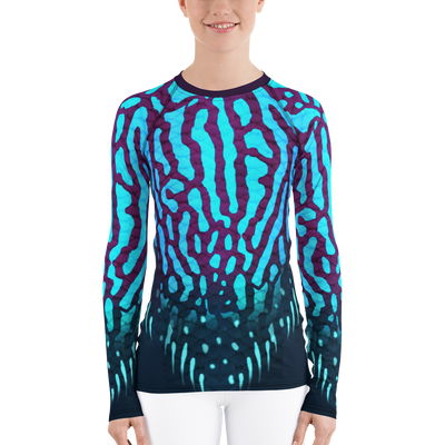 Royal Discuss - Women's Rash Guard (Warehouse)