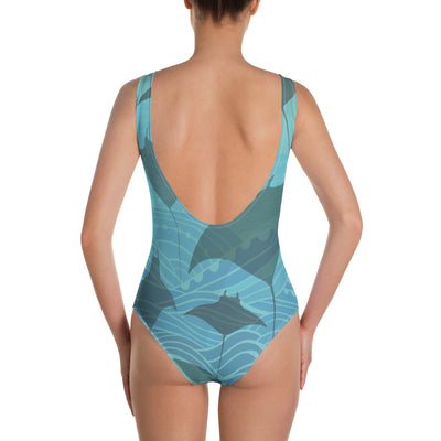 Manta Waters One-Piece Swimsuit