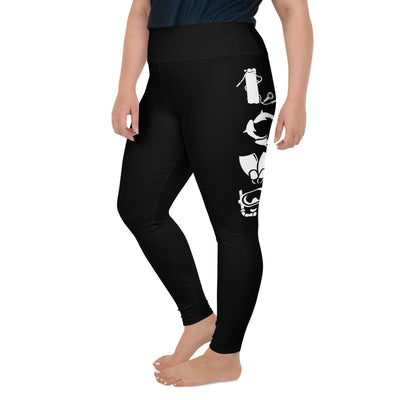 Love Scuba Plus-Size Leggings