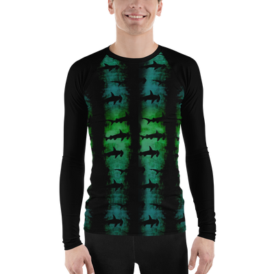 Green Hammerhead Sharks - Men's Rash Guard