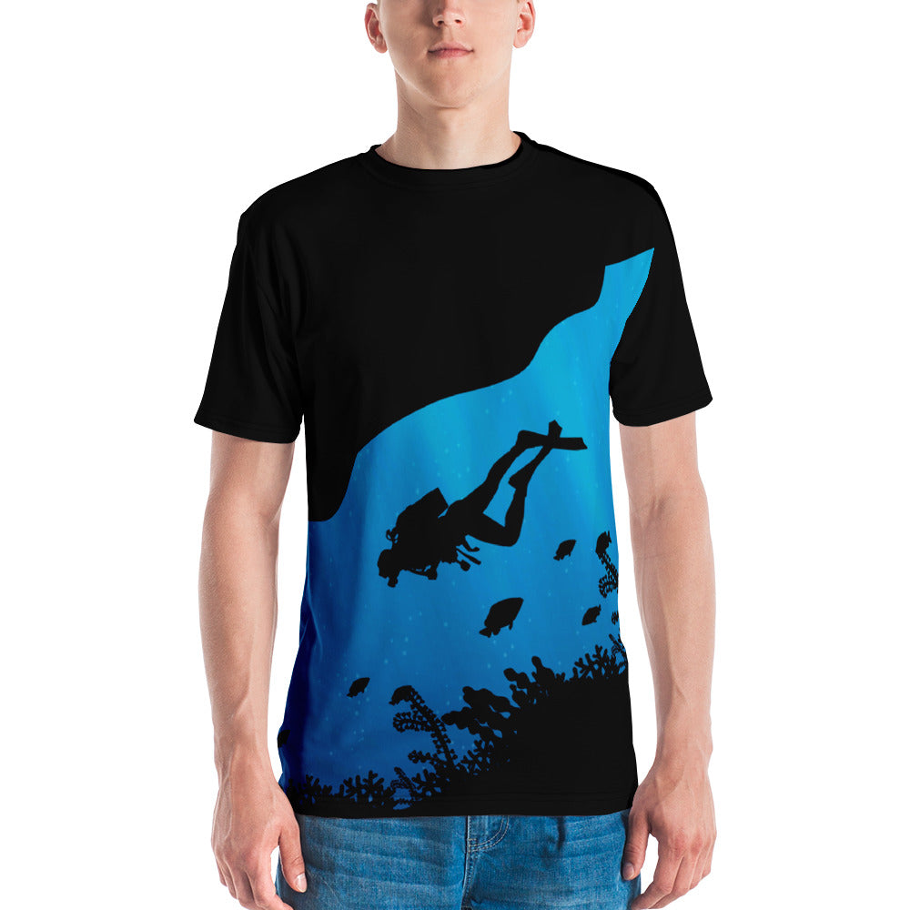 Underwater Explorer Mens Crewneck Shirt