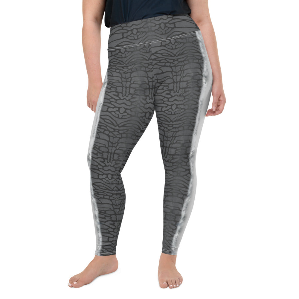Tiger Shark Plus-Size Leggings