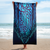 Royal Discus Beach Towel