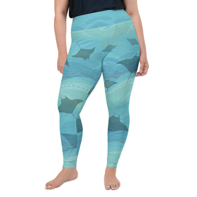 Manta Waters Plus-Size Leggings