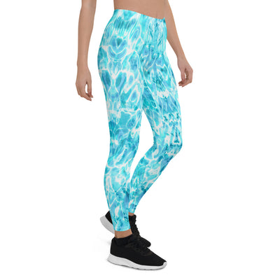 Azure Water Leggings
