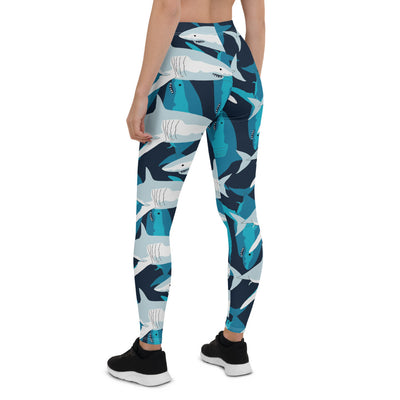 Great White Shark Leggings