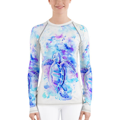 Turtle Dream - Women's Rash Guard