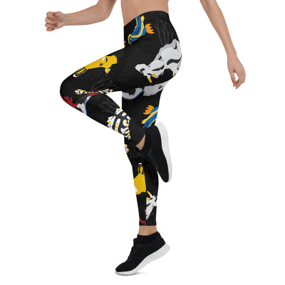 Colorful Nudibranch Leggings