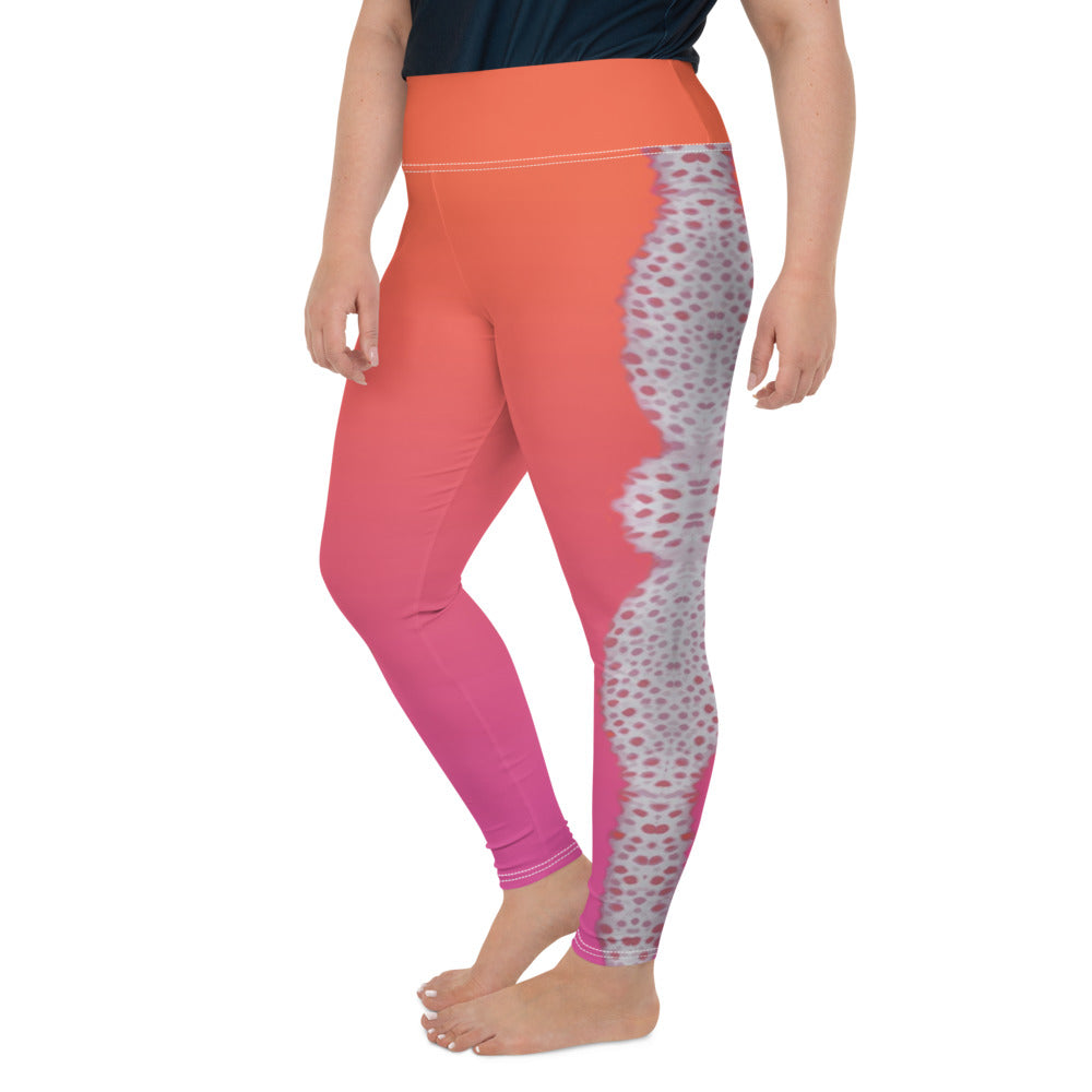 Painted Dirona Nudi Plus-Size Leggings