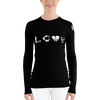 LOVE Scuba - Women's Rash Guard