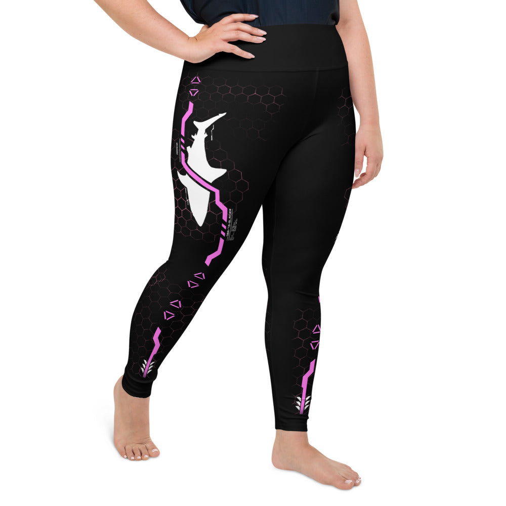 Tech Shark Plus-Size Leggings