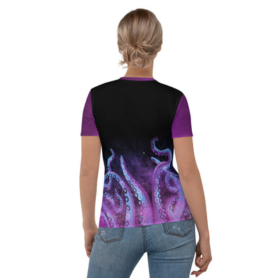 Octopus Womens Crewneck Shirt