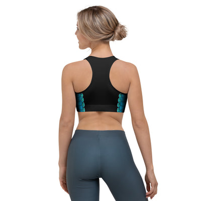 Let The Sea Set You Free Sports Bra (Warehouse)