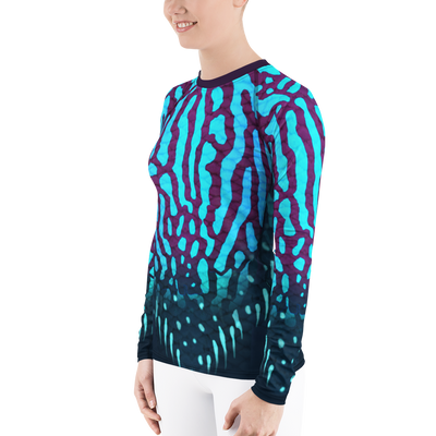 Royal Discuss - Women's Rash Guard