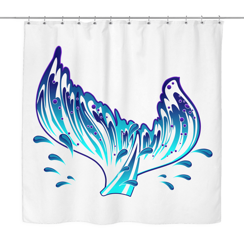 Image of Secretly I'm A Mermaid - Shower Curtain