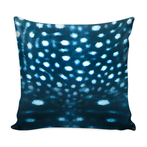 Whale Shark Pillow Cover with Pillow Insert