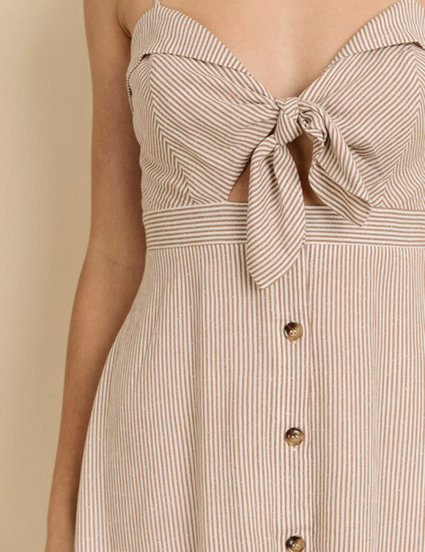BETHANY BUTTON-DOWN DRESS