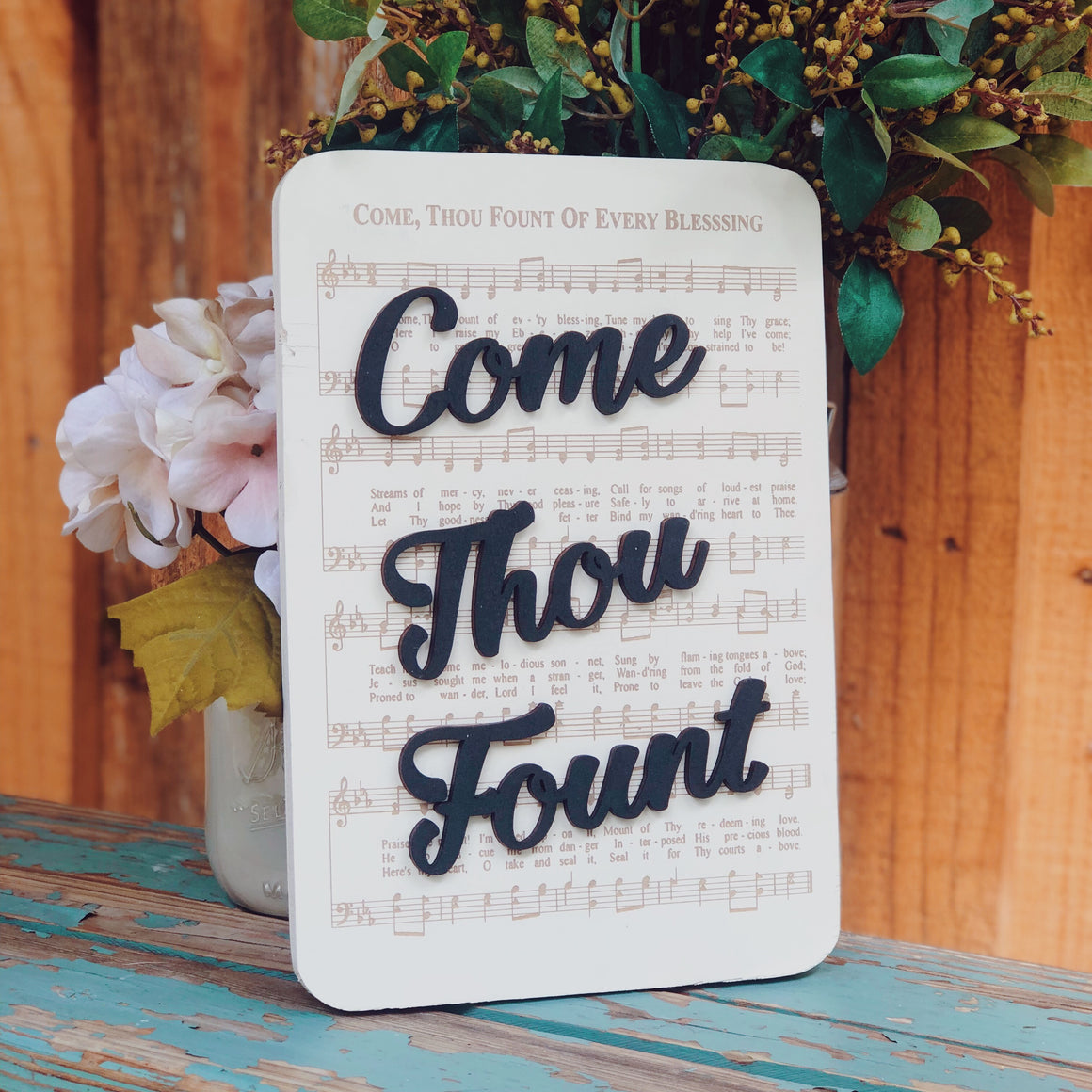 Come Thou Fount - Unframed