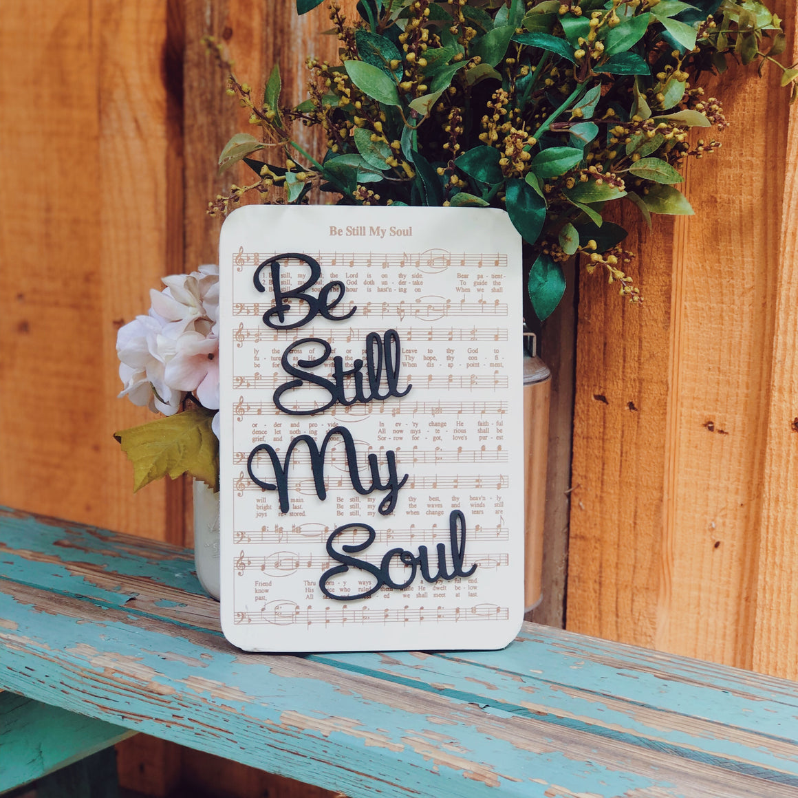Be Still My Soul - Unframed