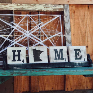 Letter Tile Home Package