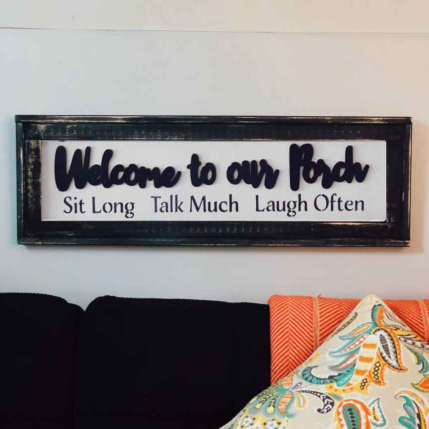 Welcome to Porch