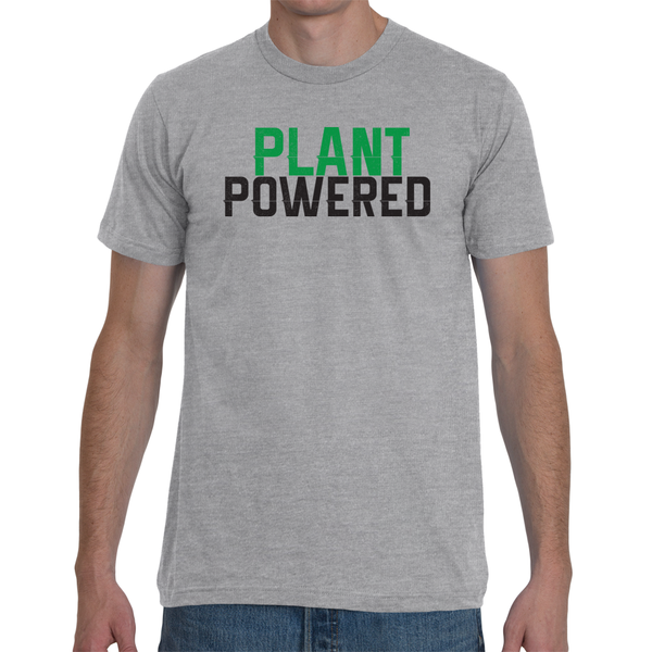 Plant Powered Retro Tee