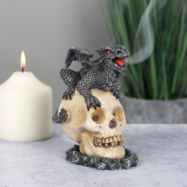 Anne Stokes Black Dragon Incense Cone Burner