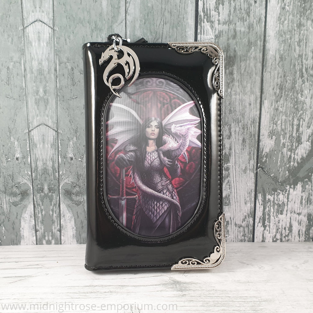 Anne Stokes 3D Lenticular Purse 'Valour'