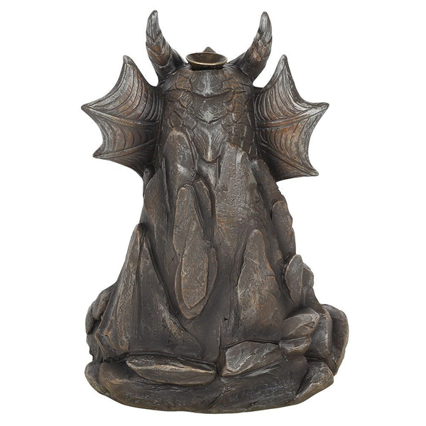 Grey Dragon Backflow Incense Burner