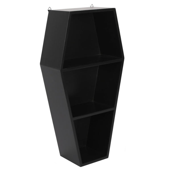 Black Coffin Display Shelf - Black Magic Collection