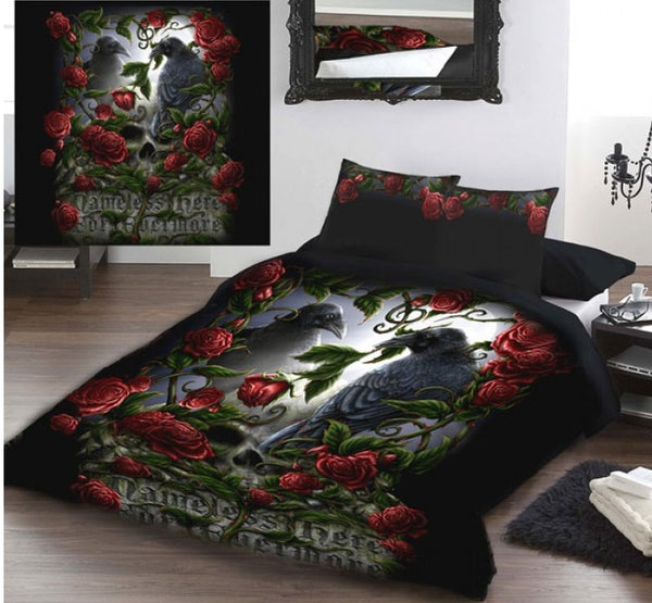 Linda M Jones 'Forevermore' - UK King Size Bedding Set